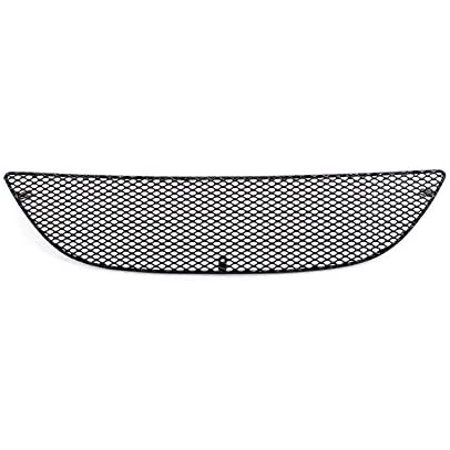 Grillcraft FOR5005B MX Series Black Upper 1pc Mesh Grill Grille Insert for Ford Mustang Grillcraft Upper Billet Grill