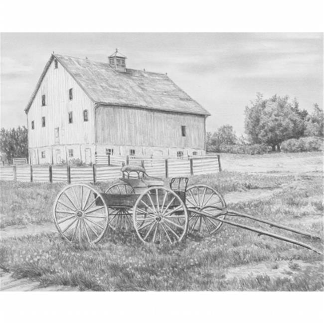 Sketching Made Easy Kit 9''X12''-Country Wagon - image 1 de 1