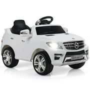 Mercedes Benz ML350 Licensed 6V Electric Kids Ride On Car w/MP3 RC Remote