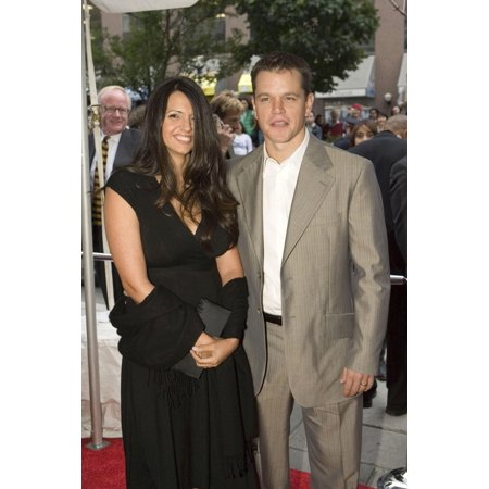 Luciana Barroso Matt Damon At Arrivals For 2006 Onexone Gala Benefit Hosted By Matt Damon The Carlu Convention Center Toronto Canada On September 10 2006 Photo By Malcolm TaylorEverett Collection Cele - Science Centre Toronto Halloween