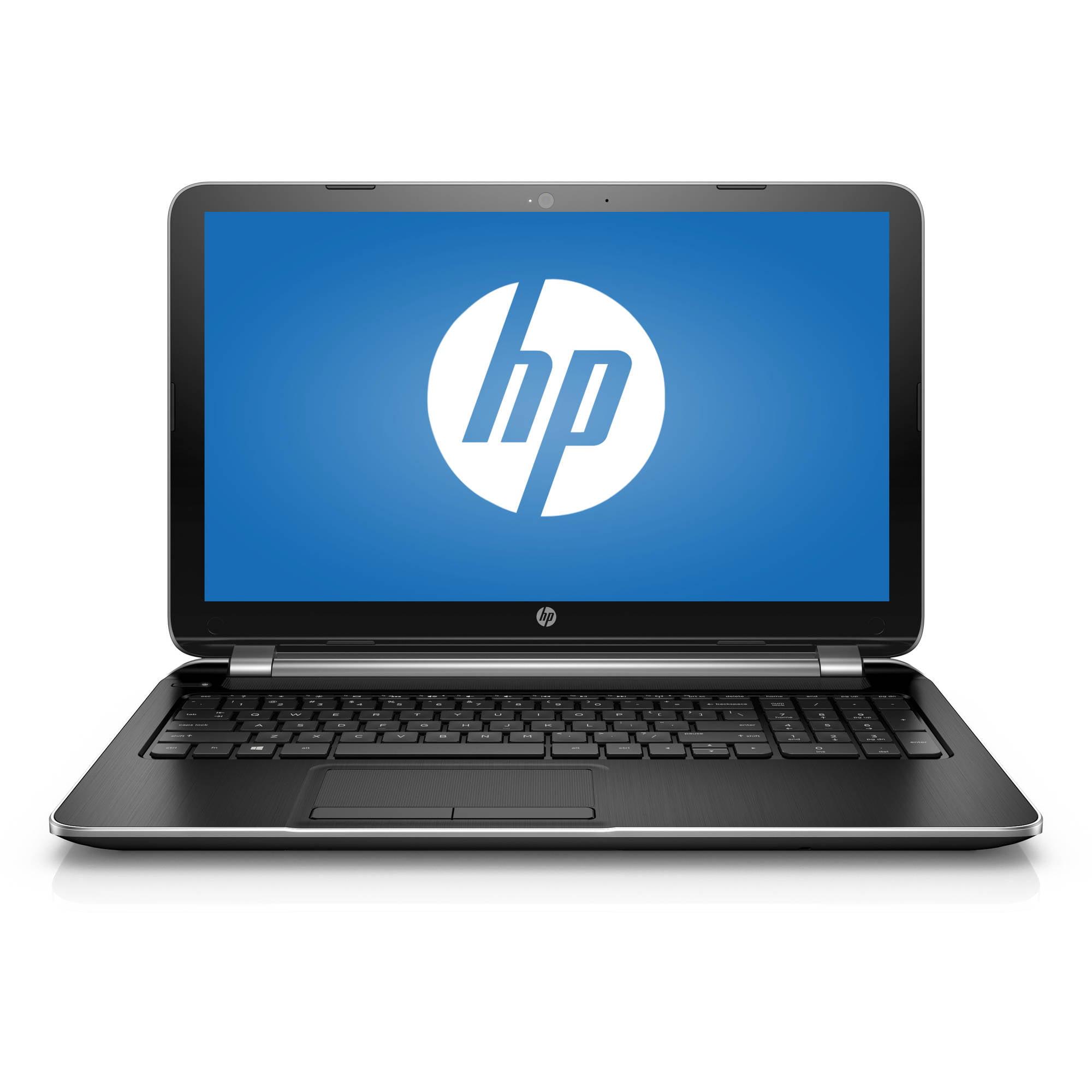 "Refurbished HP Silver 15.6"" 15-f271wm Laptop PC with Intel Pentium N3540 Quad-Core Processor, 4GB Memory, 500GB Hard Drive and Windows 10 Home"