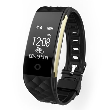 TechComm VX9 Water-resistant Fitness Tracker with Dynamic Heart Rate Sensor