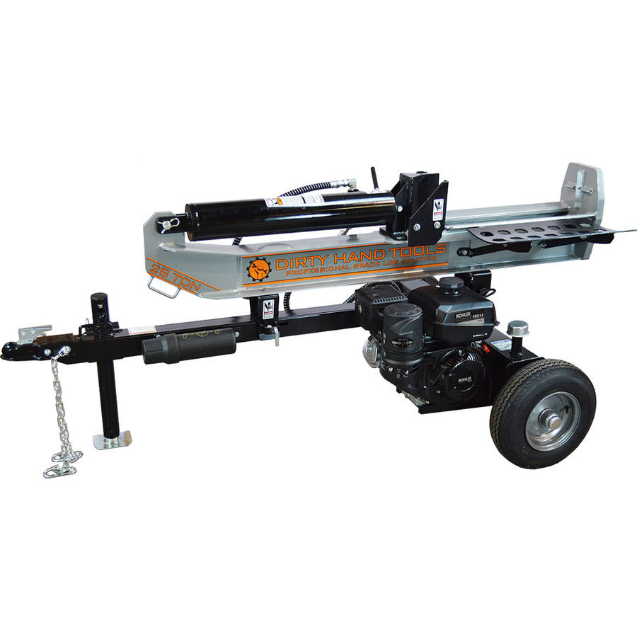 Dirty Hand Tools 28 Ton Horizontal Vertical Log Splitter, Kohler Engine by FrictionlessWorld LLC