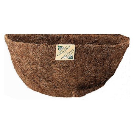 Gardman 20 in. Pre-Formed Wall Basket with Manger Coco Liner