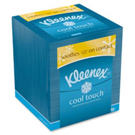 Kimberly-Clark Professional KCC29388CT Kleenex Cool Touch Facial Tissue, 27 Per Carton