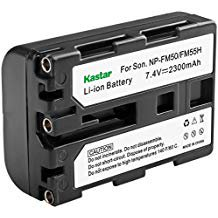 Kastar Lithium Ion Battery NP FM50 1 Pack for Sony Cybershot DSC F828 Camcorder and