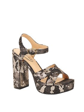 Scoop Women's Yvonne Chunky Platform Heel Sandals