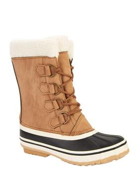 Portland Boot Company Women's Emmett Fleece Cuff Duck Boots