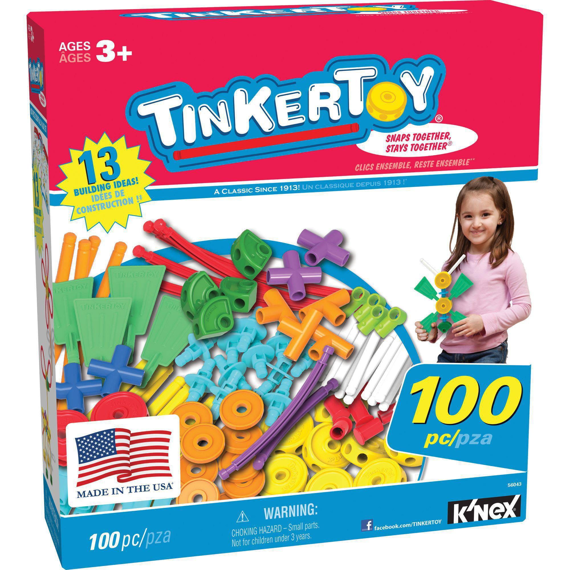 Tinkertoy 100-Piece Essentials Value Set