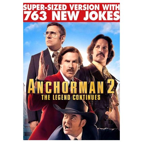 Anchorman 2: The Legend Continues (Super-Sized Version) (2013)