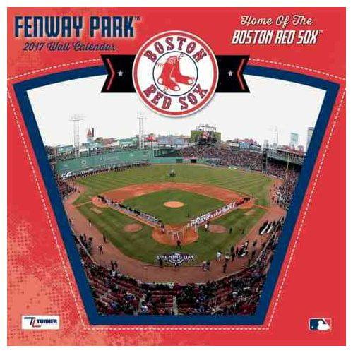 Boston Red Sox Fenway Park 2017 Calendar Walmart Com