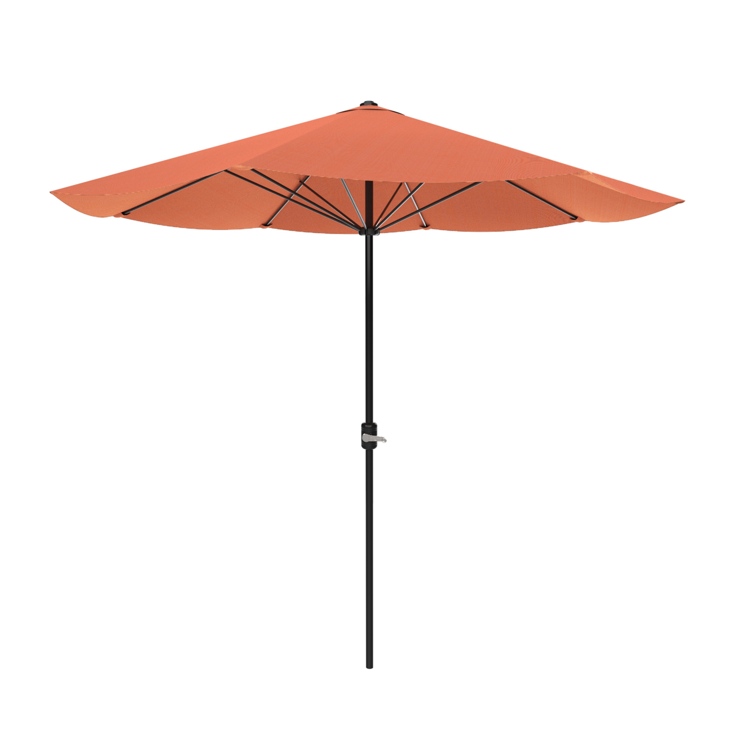 Patio Umbrella, Outdoor Shade with Easy Crank- Table Umbrella for Deck, Balcony, Porch,... by Trademark Global LLC