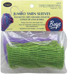 Jumbo Yarn Sleeves-3/Pkg