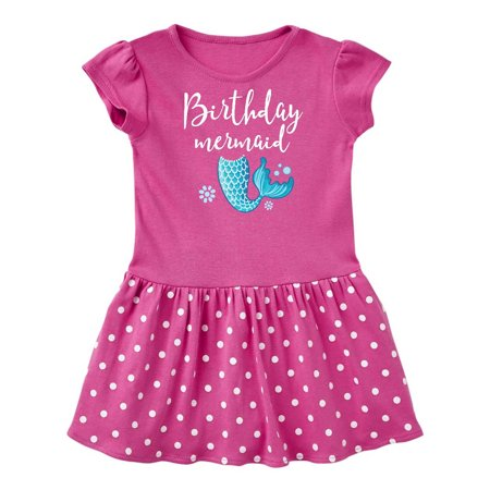 Birthday Mermaid Girls Party Gift Toddler Dress
