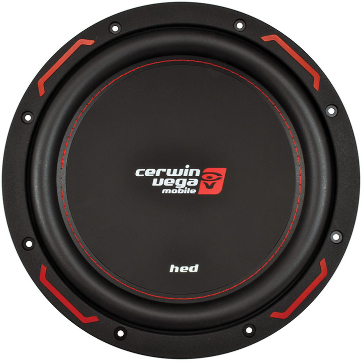 """Cerwin-Vega Mobile H7124D HED Series 1,200-Watt DVC Subwoofer (12"""") by Cerwin-Vega"""