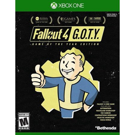 Fallout 4 GOTY Edition, Bethesda, Xbox One, 093155172517