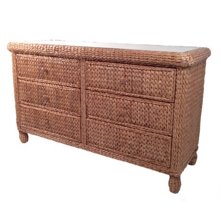 Elanamar Designs Miramar Drawer Double Dresser