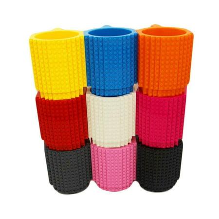 DIY Creative Lego Brick Building Mug Assemble Puzzle Blocks Gift Cup (9 Colors) - image 4 of 12