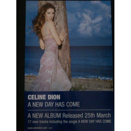 Celine Dion A New Day Has Come Poster (Celine Dion A New Day Has Come)