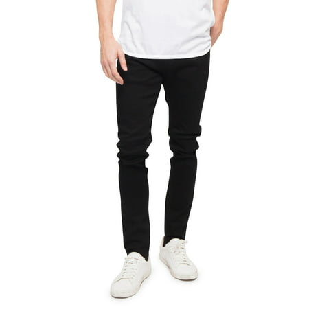 Victorious Men's Super Skinny Fit Stretch Denim Jeans, Up to 42W