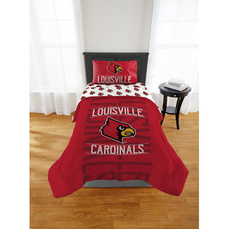 NCAA Louisville Cardinals Twin or Full Comforter, 1 Each Arizona Cardinals Twin Comforter