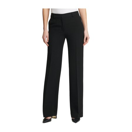 DKNY Womens Fixed Waist Dress Pants black 0x32 - image 1 of 1