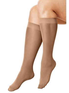 d7103b47112 Product Image Comfort Choice Plus Size 3-pack Knee-high Support Socks
