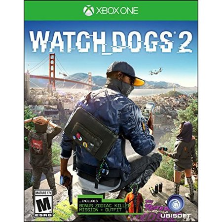 Watch Dogs 2 Day 1 Edition, Ubisoft, Xbox One,