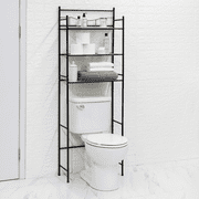 Mainstays 3-Shelf Bathroom Over-the-Toilet Space Saver with Liner