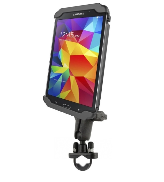 "RAM Motorcycle Handlebar Bike Mount Holder fits 7"" Tablet..."