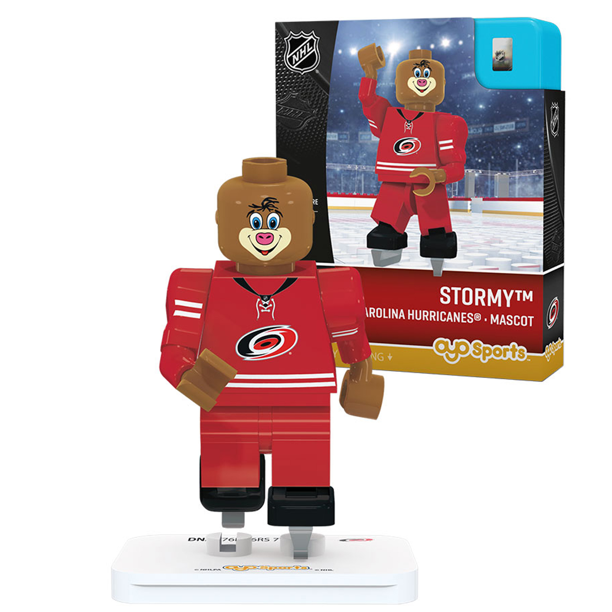 Stormy Carolina Hurricanes OYO Sports Generation 3 Mascot Figurine - No Size