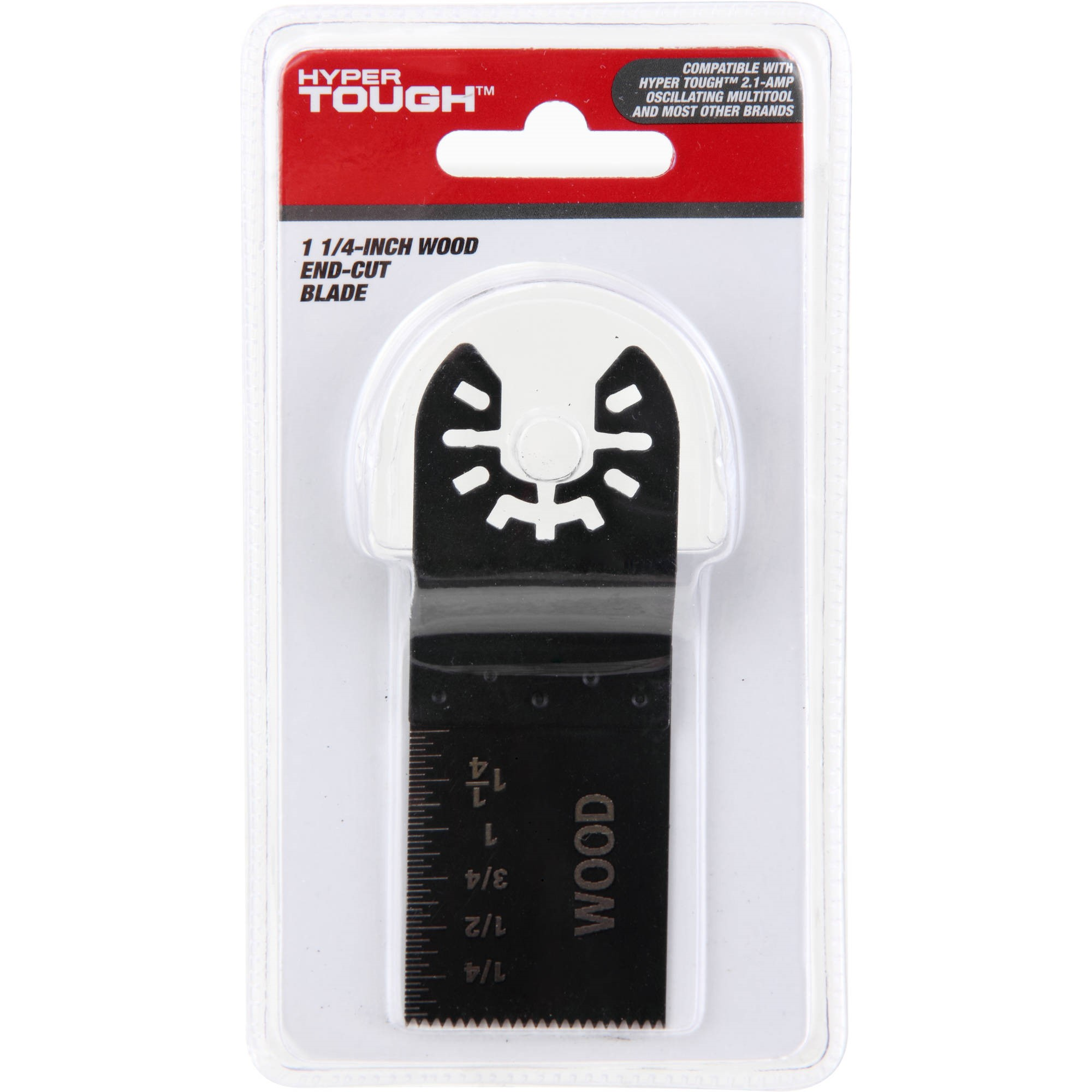 """Hyper Tough 1-1/4"""" Wood End-Cut Blade for Oscillating Tools"""