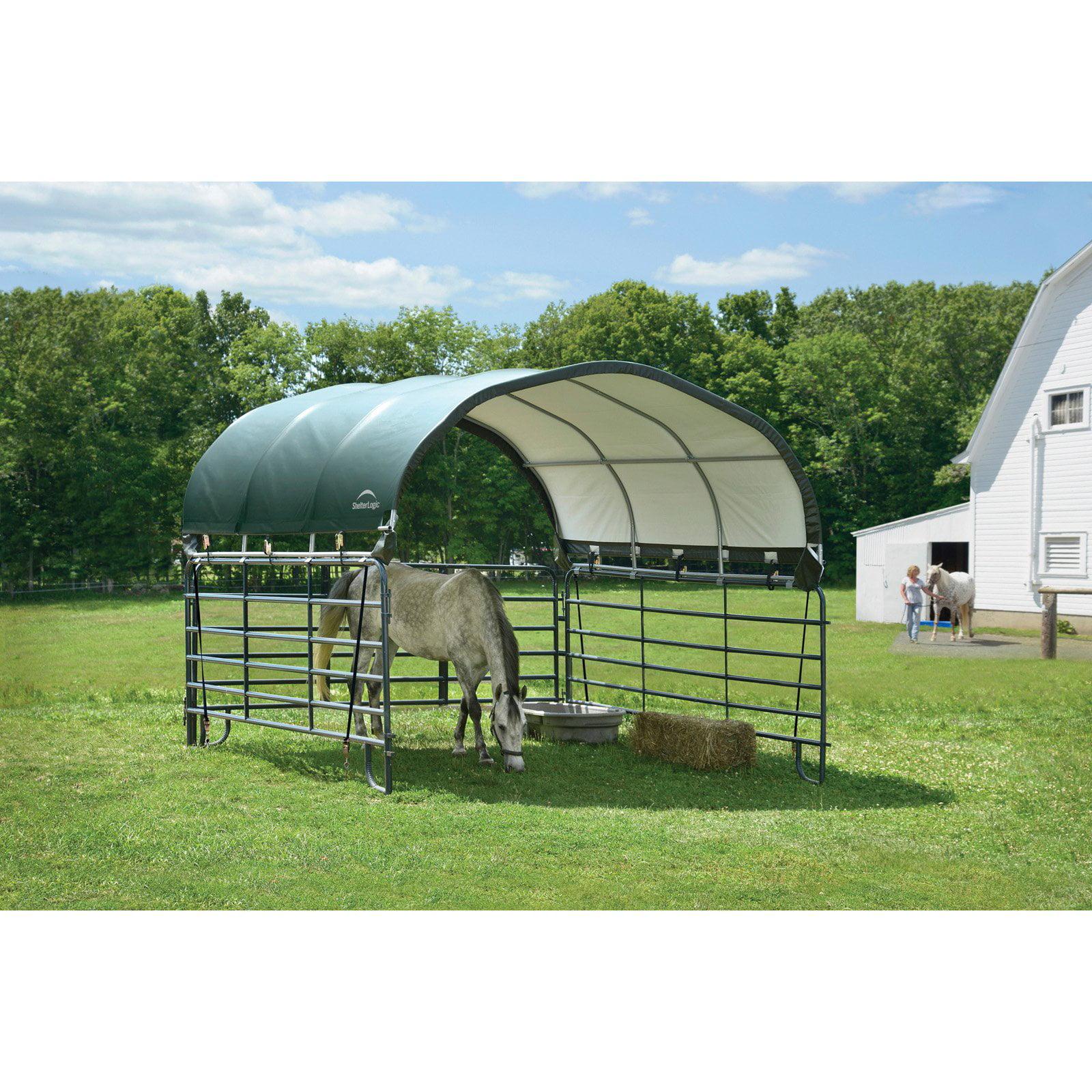 ShelterLogic Corral 12 x 12 ft. Shelter Green by ShelterLogic