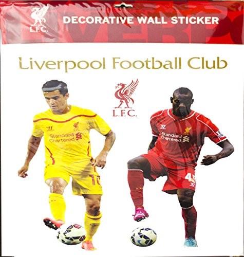 liverpool wall sticker walmart com liverpool never walk alone wallsticker fra 169 kr