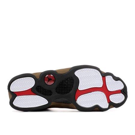 Air Jordan - Men - Air Jordan 13 Retro 'Olive' - 414571-006 - Size 8 - image 2 de 2