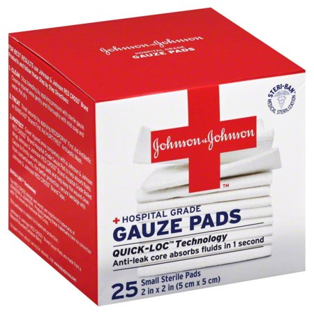 Johnson Gauze Pads 25 Ea