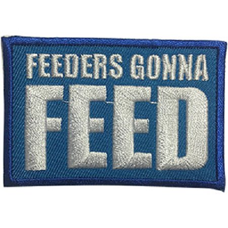 Video Feed - Video Games Feeders Gonna Feed - Sew Iron on, Embroidered Original Artwork - Patch - 2.5