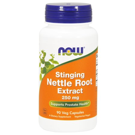 NOW Supplements, Stinging Nettle Root Extract 250 mg, 90 Veg Capsules