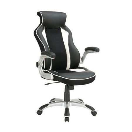 Enjoyable Coaster Race Car High Back Leather Ergonomic Gaming Office Chair Ibusinesslaw Wood Chair Design Ideas Ibusinesslaworg