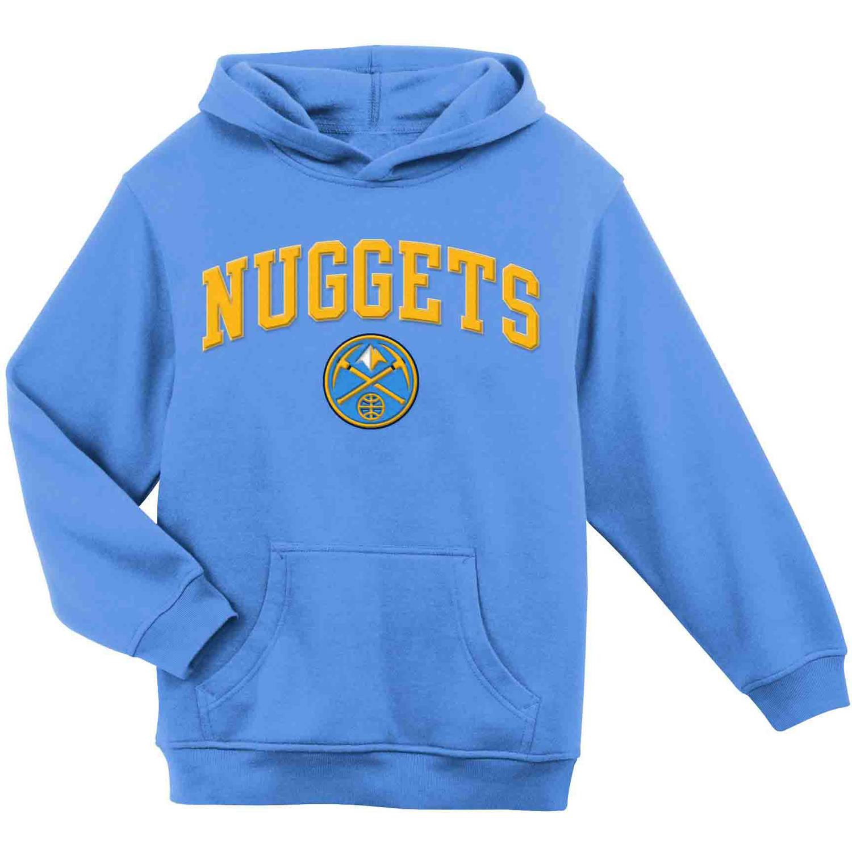 NBA Denver Nuggets Youth Team Hooded Fleece