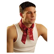 OccuNomix Miracoll Bandana Cowboy Red One Size Fits All 940CRD