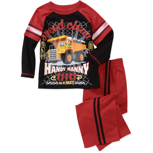 Baby Boys' Handy Mandy 2-Piece Hangdown Tee and Pant Set