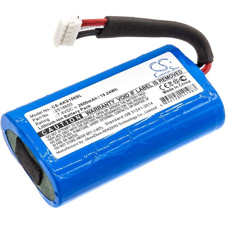 2600mAh 2S18650 Battery for Anker SoundCore Boost ()