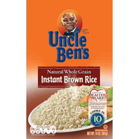 Uncle Ben's Whole Grain Instant Brown Rice Fast & Natural