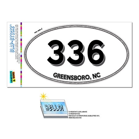 336 - Greensboro, NC - North Carolina - Oval Area Code (Glasses Greensboro Nc)