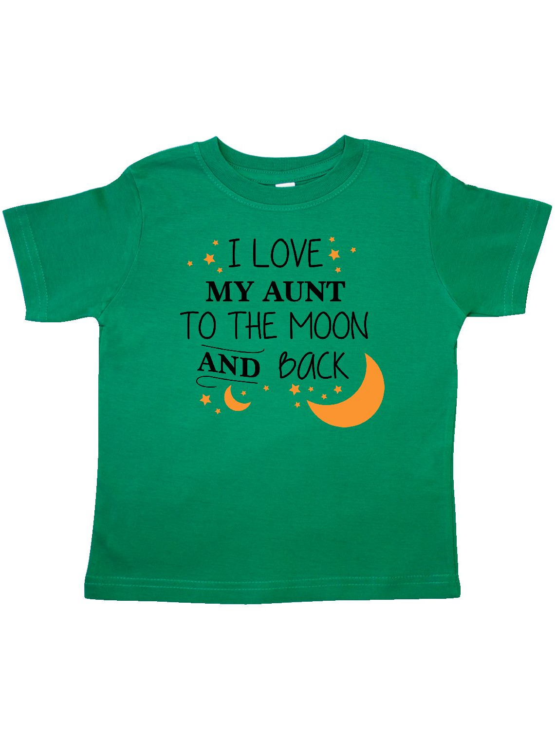 I Love My Aunt To The Moon and Back Toddler T-Shirt