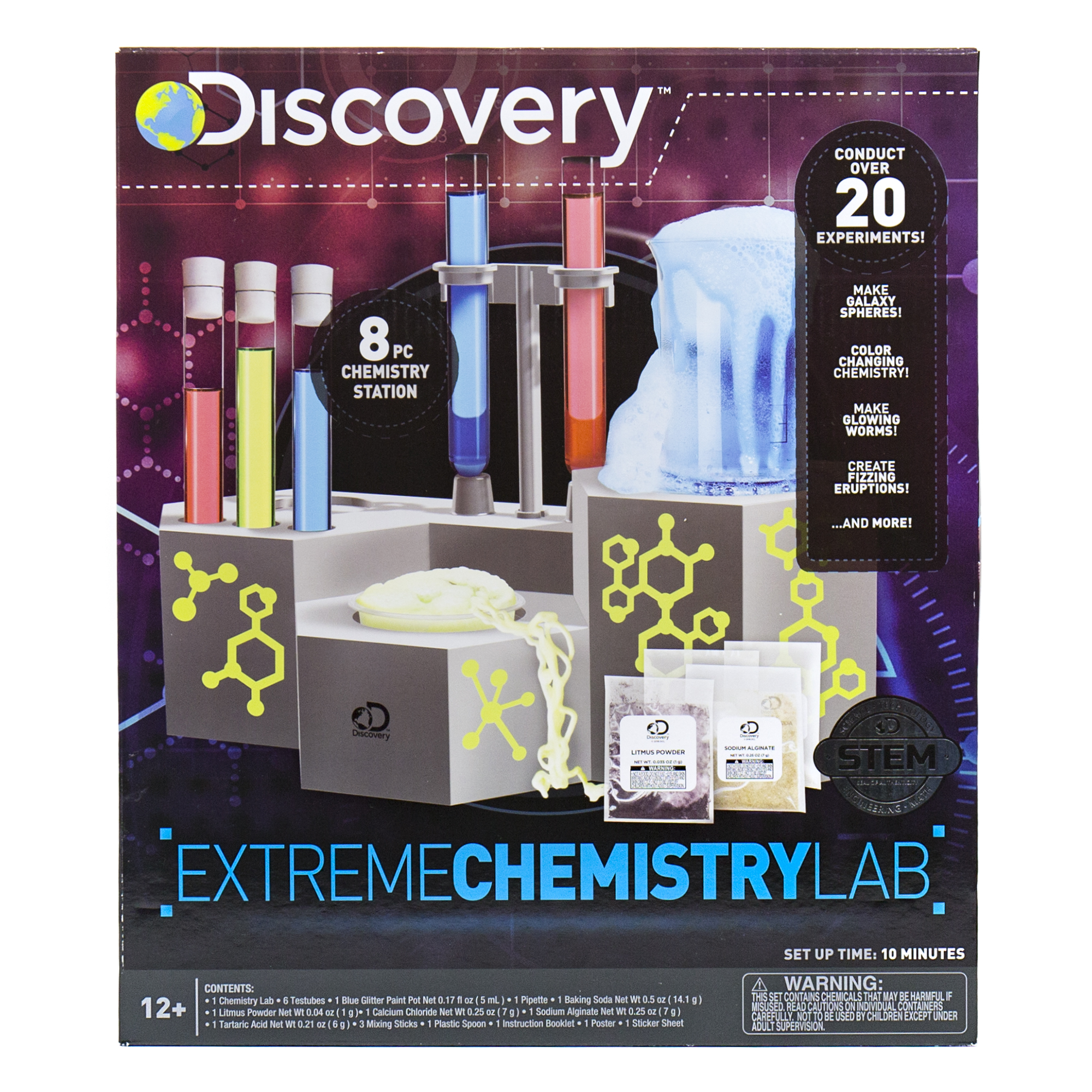Discovery Extreme Chemistry Lab Kit for Kids, 1 Each