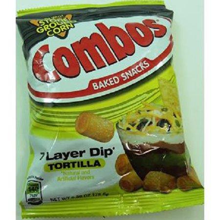 Product Of Combos, 7 Layer Dip Tortilla - Bag, Count 1 - Snacks / Grab Varieties & Flavors