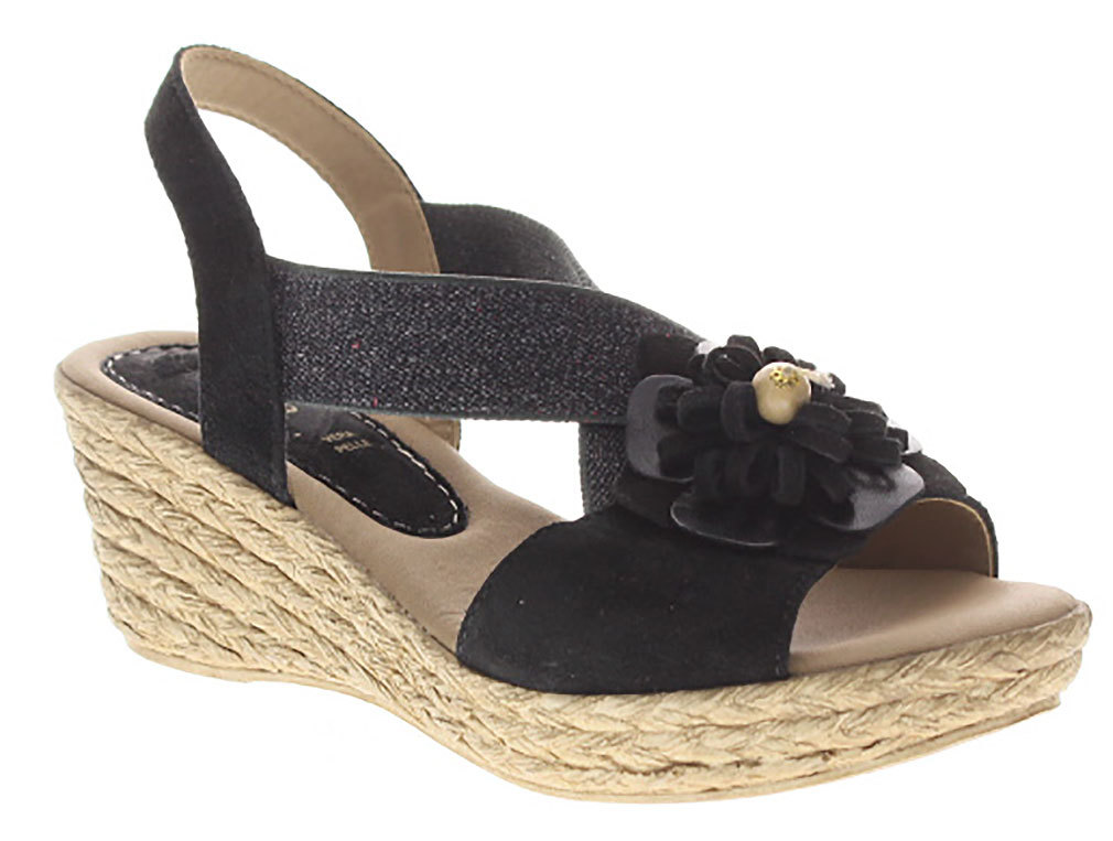 Azura Women's M Ruby-Mae Black Sandals 42 M Women's EU 10.5-11 M 631ed8