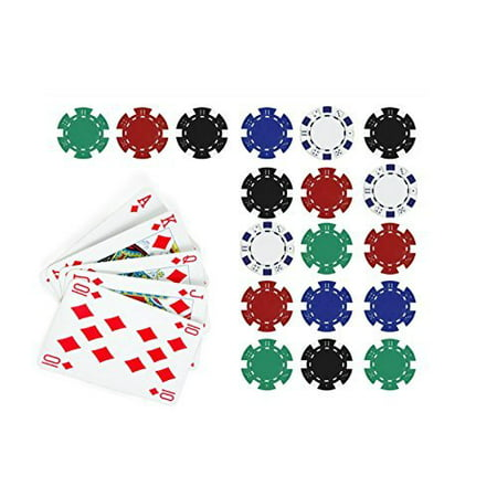 Poker Edible Cake Topper Royal Flush in Diamonds Cake Topper Casino (Diamond Cake Toppers)